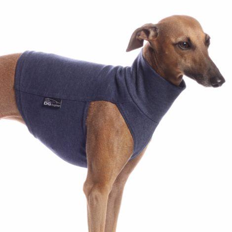 Camiseta de algodón para galgos, piccolos, podencos y whippet