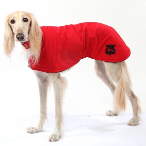 Abrigo impermeable tipo capa para galgos, podencos, whippet y piccolos DG