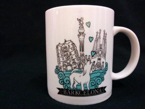 Taza mug para café o te de la firma Barkcelona