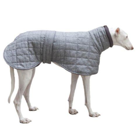 Abrigo acolchado para galgo, podenco y whippet