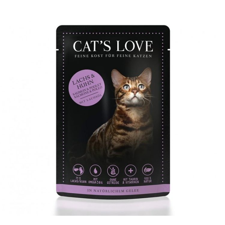Cat's Love Adult Mix Salmón y Pollo