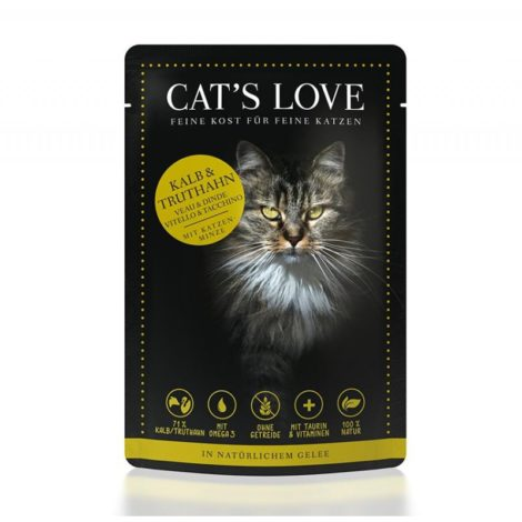Cat's Love Adult Mix Ternera y Pavo