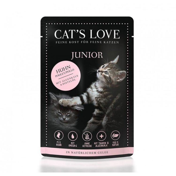 Cat's Love Junior Pollo