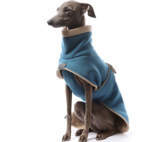 abrigo algodón turquesa DG para piccolos