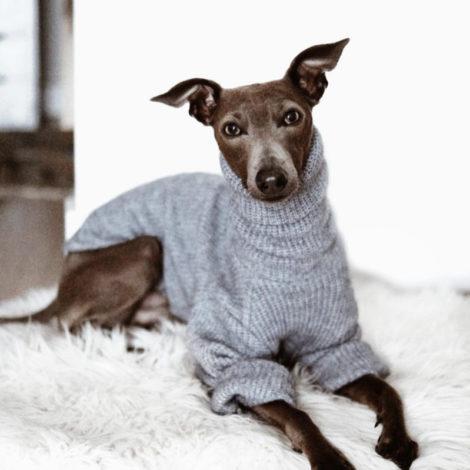 jersey lana gris piccolo