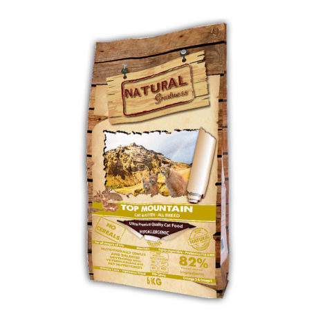 Natural Greatness gato top montain