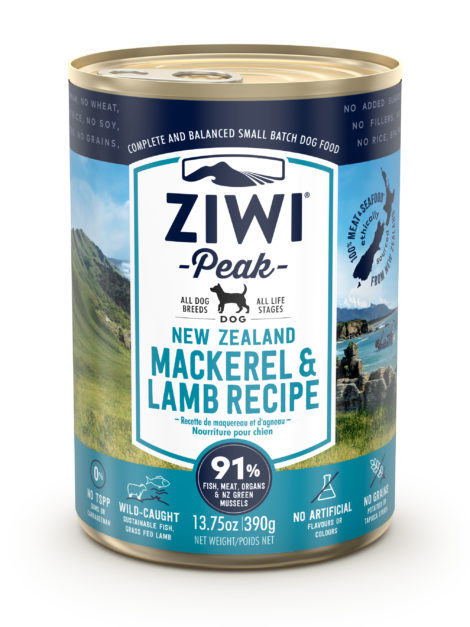 ZP Dog Mackerel & Lamb 390 gr 320222